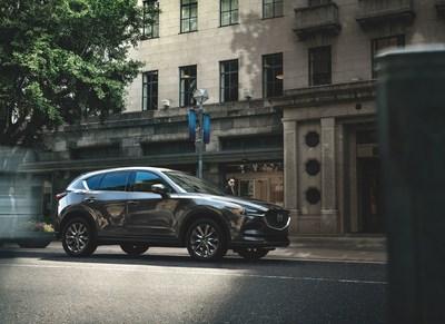 Le Mazda CX-5 Signature 2019 à moteur diesel (Groupe CNW/Mazda Canada Inc.)