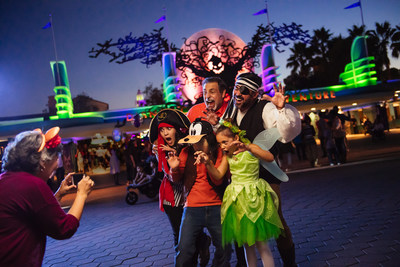 This Halloween season, Disneyland Resort will debut the new Oogie Boogie Bash ? A Disney Halloween Party for guests of all ages at Disney California Adventure Park in Anaheim, Calif. The separate-ticket event will will take place on 20 select nights during Halloween Time at the Disneyland Resort, running from Sept. 6 through Oct. 31. (Disneyland Resort)