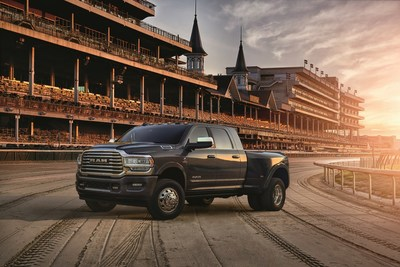 Ram unveils special-edition Kentucky Derby® 2019 Heavy Duty pickup.