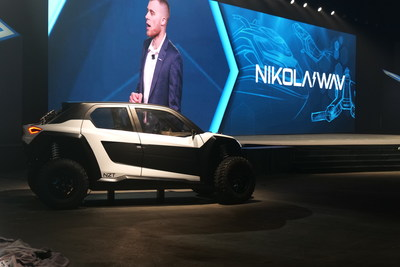 The Nikola NZT was introduced to the Nikola World audience.  Powersports VP Jordan Darling also presented the Nikola WAV, a next generation watercraft.
