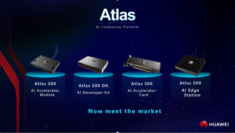 Huawei Atlas now meets the market