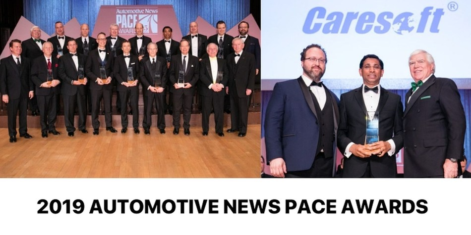 Caresoft Global Wins 2019 Automotive News PACE Award For Innovation in Automotive Benchmarking Using CT Scans