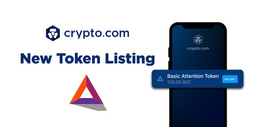 Crypto.com Lists BAT, powering Brave Browser's 6m Active Users