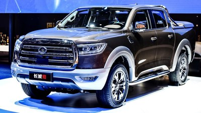 Great Wall pickup P series - passenger pickup truck