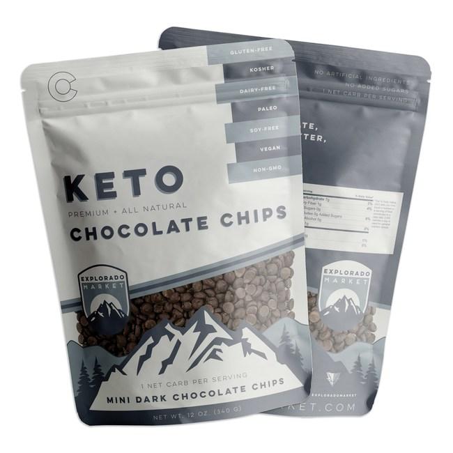 Keto Mini Dark Chocolate Chips