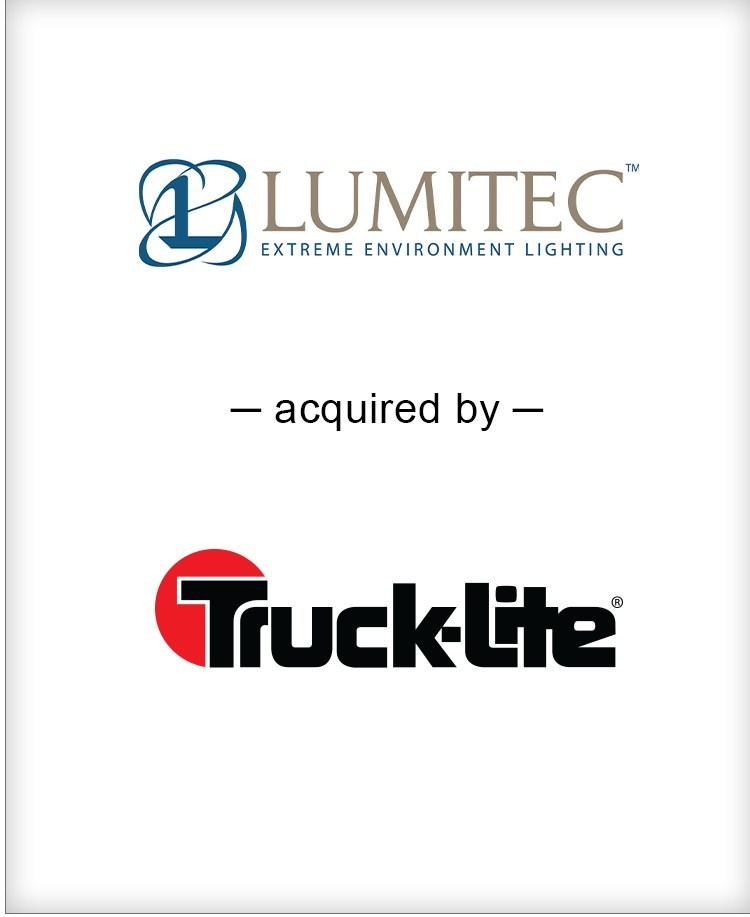 BGL is pleased to announce the acquisition of Lumitec LLC by Truck-Lite, Co., LLC. BGL's Diversified Industrials team served as the exclusive financial advisor to Lumitec.