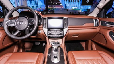 Camioneta Great Wall serie P – Interior del modelo de pasajeros (PRNewsfoto/Great Wall Motors)