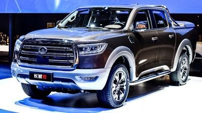 Camioneta Great Wall serie P – Modelo de pasajeros (PRNewsfoto/Great Wall Motors)