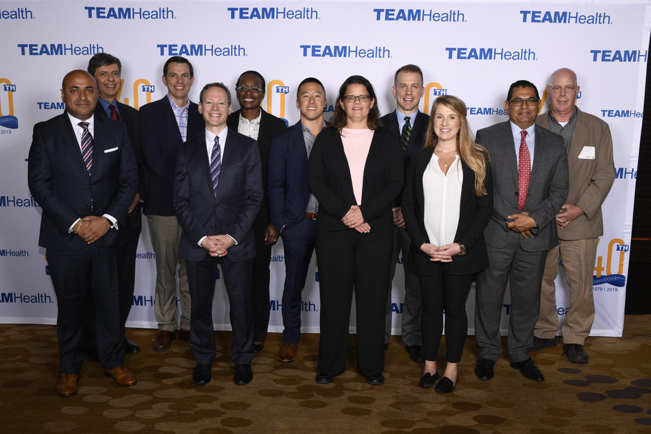 TeamHealth honors award winners at the 2019 National Medical Leadership Conference