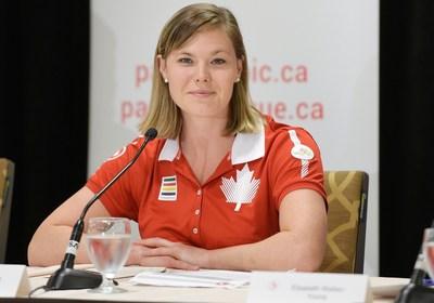 La légende de la natation paralympique Stephanie Dixon, photographiée ici aux Jeux parapanaméricains de Toronto 2015, sera la chef de mission du Canada aux Jeux parapanaméricains de Lima 2019 et aux Jeux paralympiques de Tokyo 2020.PHOTO : Comité paralympique canadien (Groupe CNW/Canadian Paralympic Committee (Sponsorships))