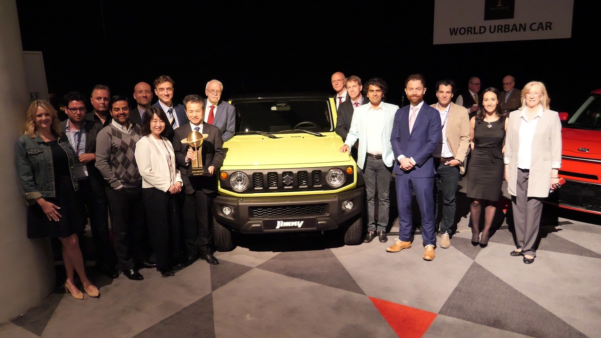 2019 Suzuki Jimny: News, Design, Release >> 2019 World Car Awards And Now There Is One Suzuki Jimny