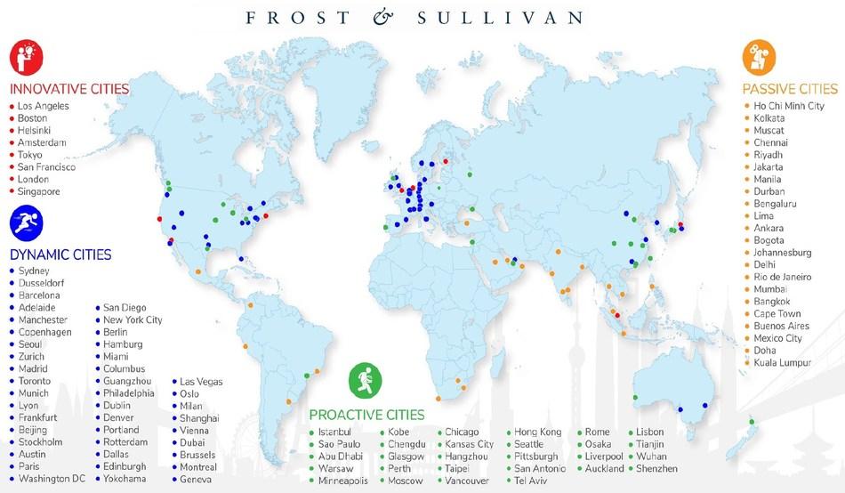 Smart Mobility City Tracker (PRNewsfoto/Frost & Sullivan)