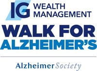 IG Wealth Management Walk for Alzheimer's (CNW Group/Alzheimer Society of Canada)