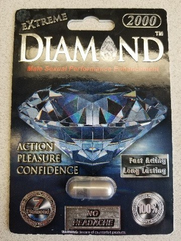 Extreme Diamond 2000 - Sexual enhancement (CNW Group/Health Canada)