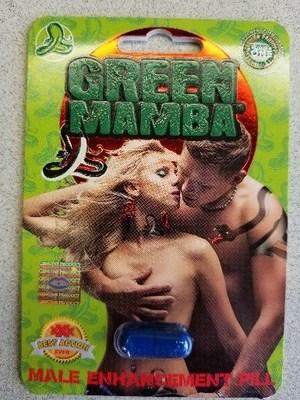 Green Mamba - Amélioration de la performance sexuelle (Groupe CNW/Santé Canada)