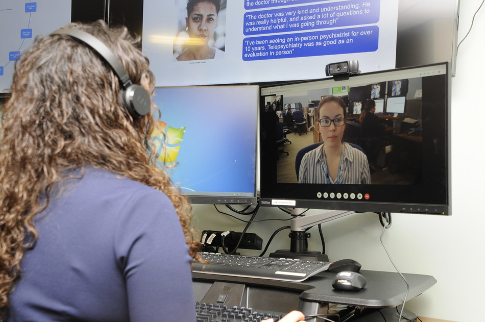 Telepsych: The new telepsychiatry hub will provide remote, around-the-clock consultations for mental health patients in crisis coming to the health system's emergency departments (ED) throughout New York City, Long Island and Westchester County.