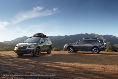 Dévoilée au Salon international de l'auto de New York, l'Outback 2020 de nouvelle génération allie les qualités Subaru à de nouvelles technologies qui promettent de hausser l'Outback à de nouveaux sommets. (Groupe CNW/Subaru Canada Inc.)