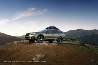Fidèle à la tradition, l'Outback 2020 se distingue par son confort et sa souplesse de roulement tout en restant très à l'aise en conduite hors route. (Groupe CNW/Subaru Canada Inc.)