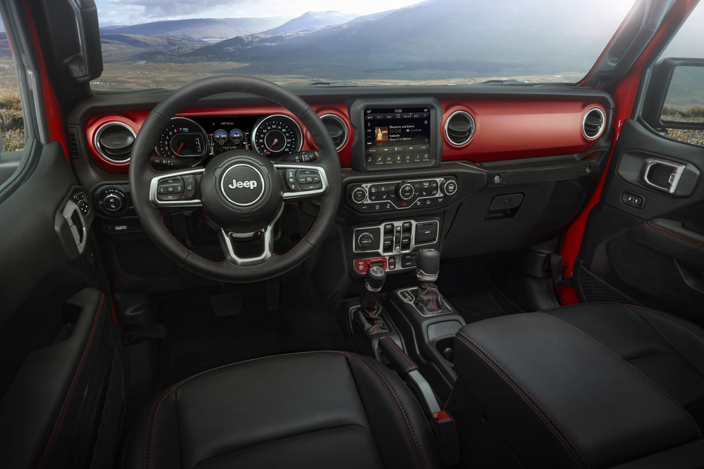 Best Jeeps 2020 All new 2020 Jeep® Gladiator Named to Wards 2019 10 Best Interiors