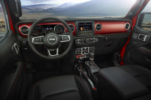 The all-new 2020 Jeep® Gladiator has been named one of Wards 10 Best Interiors for 2019.
