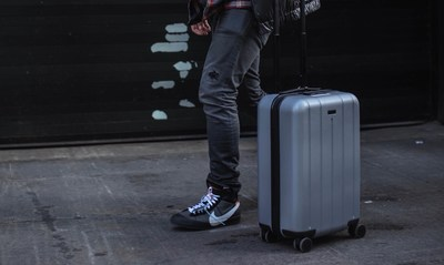 Pictured: CHESTER'S Minima Carry-On Spinner Suitcase