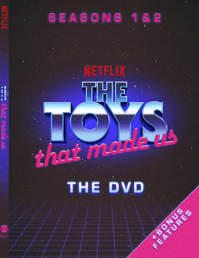 The Toys That Made Us DVD - Seasons 1 & 2