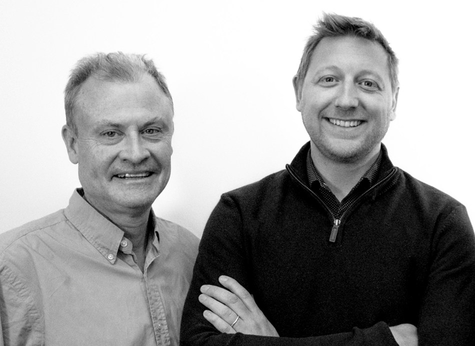 L-R: Paul Stonebridge, Splash CEO, and Sam Yates, NEON Managing Partner. (PRNewsfoto/Splash Worldwide)