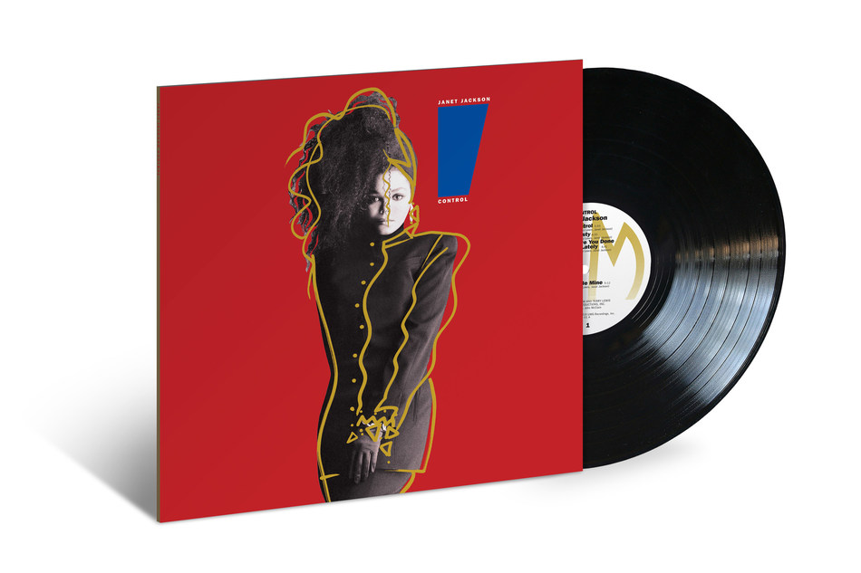 Janet Jackson's 'Control' will be released on vinyl for the first time since the album initial release on June 7 via A&M/UMe.