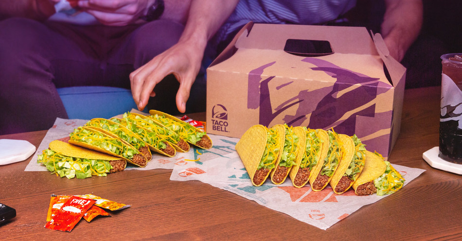Whether fans like them crunchy, soft or locos (Doritos® Locos Tacos to be exact), Taco Bell Party Packs offer the ultimate taco customization making them the go-to at-home party food too good to just get delivered on Tuesdays.
