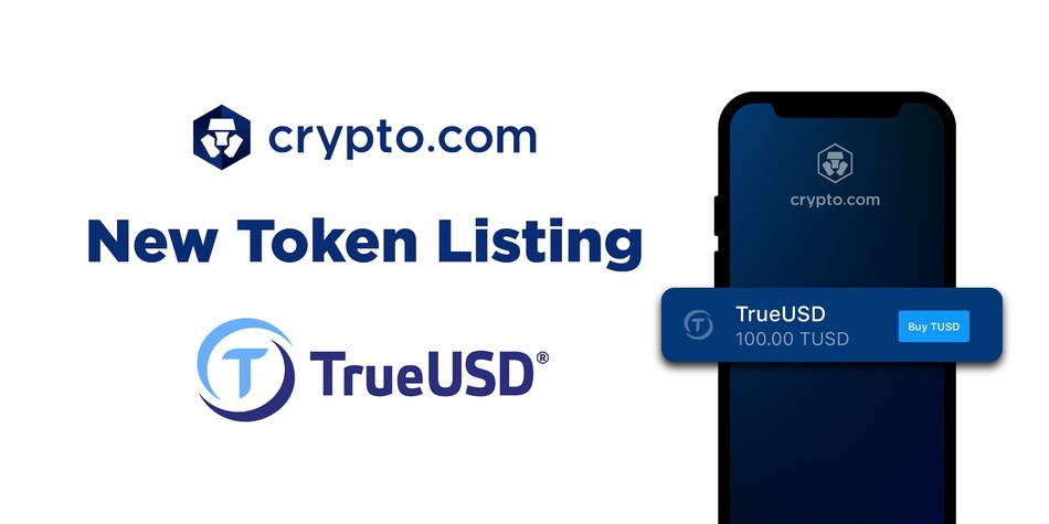 Crypto.com Lists TrueUSD (TUSD)