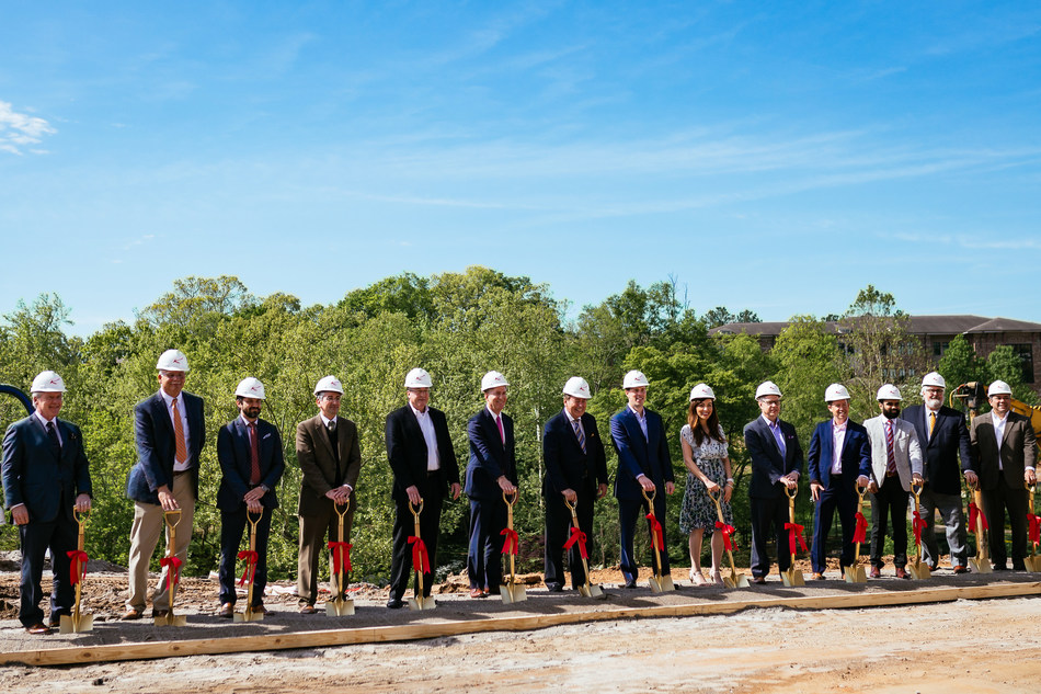 The Kessler Collection breaks ground on Grand Bohemian Hotel Greenville, the visionary hospitality brand's newest artful vision.