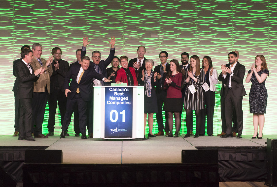 Canada's Best Managed Companies Close the Market (CNW Group/TMX Group Limited)