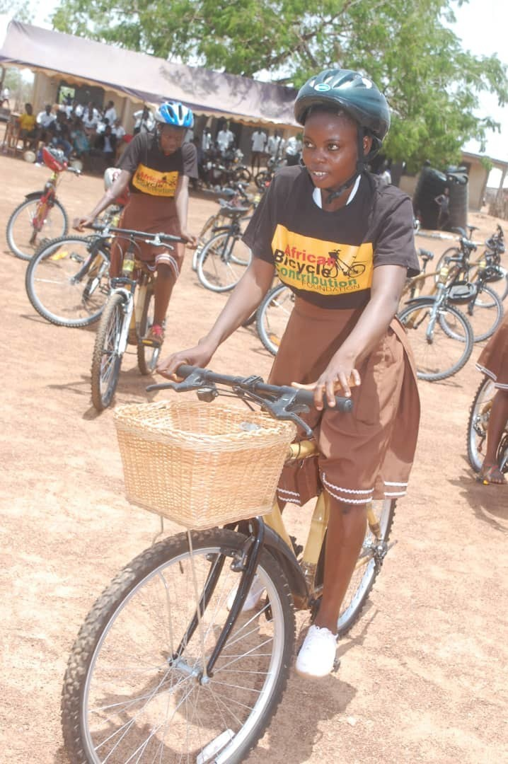 (PRNewsfoto/African Bicycle Contribution Fo)