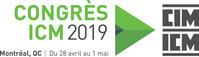 Logo: Congrès de l'Institut canadien des mines, de la métallurgie et du pétrole (ICM). (Groupe CNW/Institut canadien des mines, de la métallurgie et du pétrole)