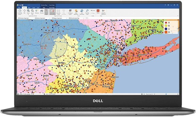 Sales Territory Mapping Solution