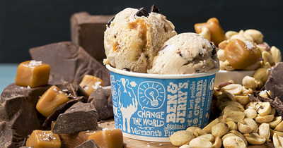 Ben & Jerry's has three new flavors, available only in Scoop Shops: Toffee Break, Nutty Caramel Swirl, and Caramel Crisp.