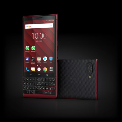 BlackBerry KEY2 Red Edition Now Available in the United States