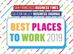 """Striim Wins Top 10 """"Best Place to Work"""" in the Bay Area for Third Year"""