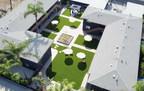 Artificial Grass Installation Enhances Student Apartments