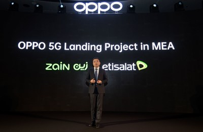 OPPO 5G Landing Project in MEA announced by Andy Shi, President, MEA, OPPO