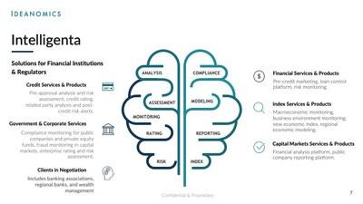 Intelligenta's Solutions for Financial Institutions & Regulators