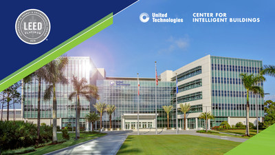 Carrier's world headquarters, the UTC Center for Intelligent Buildings, is the first commercial building in Florida to earn Leadership in Energy and Environmental Design (LEED®) Platinum v4 certification.