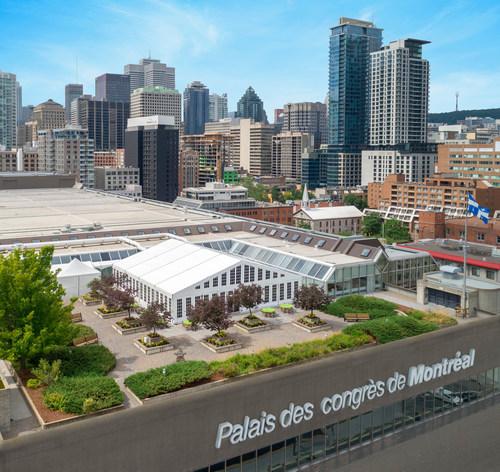 The Palais des congrès de Montréal announces its building is going carbon neutral. (CNW Group/Palais des congrès de Montréal)