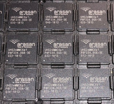 Arasan TSMC 12nm eMMC PHY IP & SD UHS-II Card IP Test Chips