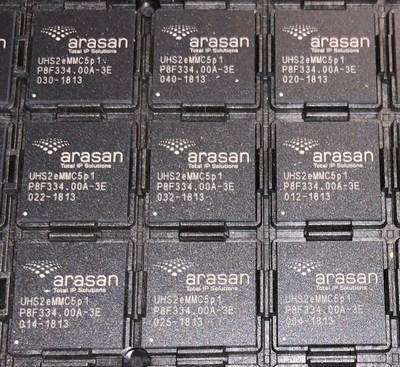 Arasan宣布基于台积电7nm工艺技术的eMMC IP解决方案
