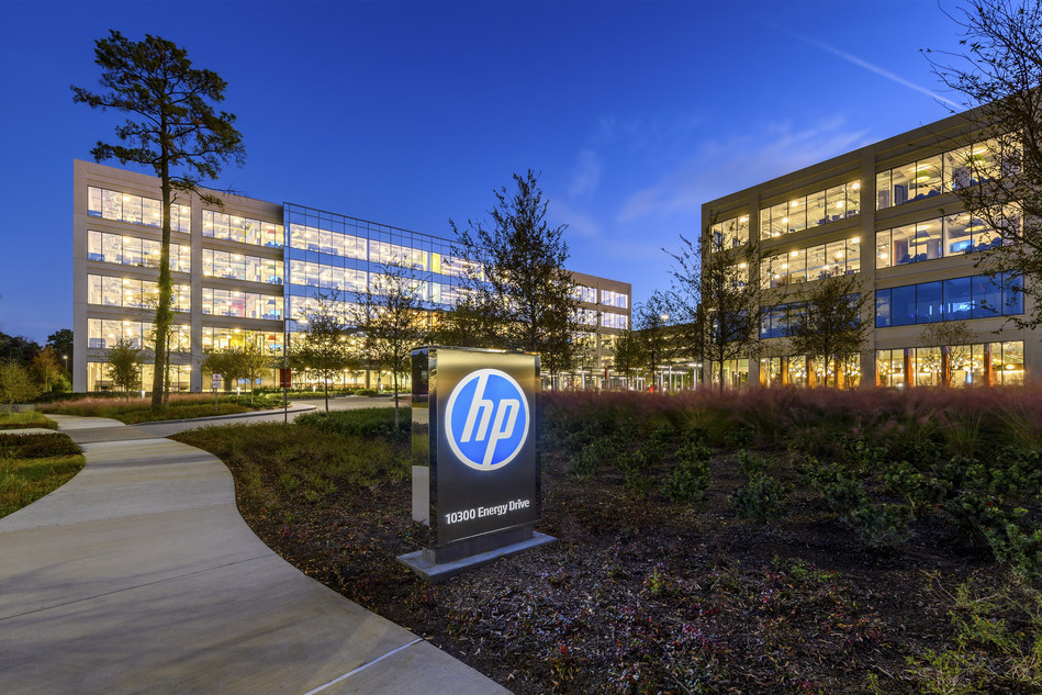 HP Plaza in CityPlace at Springwoods Village