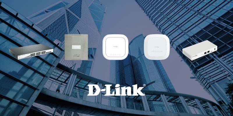D-Link Wired and Wireless LAN Access Infrastructure Solutions (PRNewsfoto/D-Link)