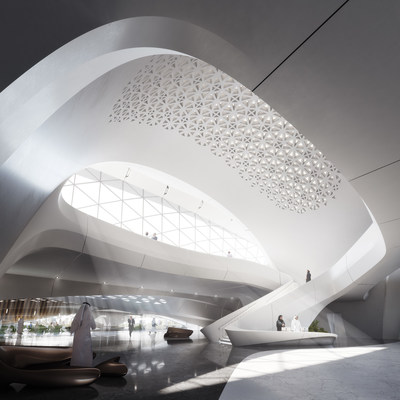 Designed by the renowned Zaha Hadid Architects, the Bee'ah office of the future will be fully powered by renewable energy and infused with artificial intelligence.