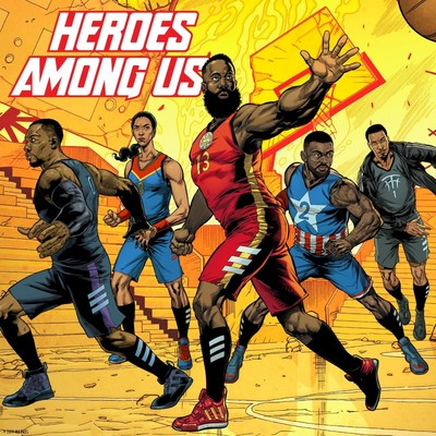 2292114d4 adidas and Marvel Celebrate Basketball s Mightiest Heroes With New Footwear  Collection