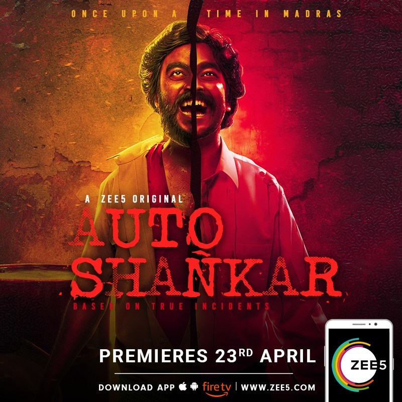 ZEE5 Premieres New Tamil Original Series 'Auto Shankar' for